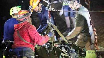 Rescate de niños en cueva de Tailandia tendrá película