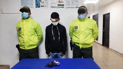Capturan a alias Taz Taz por porte de armas de fuego