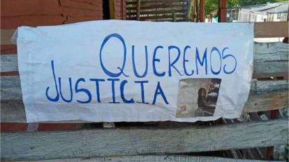 Familiares y vecinos de la menor que fue torturada exigen justicia