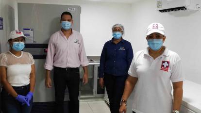 Llegó a La Guajira el segundo ultracongelador donado por Cerrejón