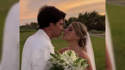 Marcela García, reina del Carnaval 2016, se casó este sábado en Punta Cana