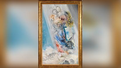 'Madona cósmica', el cuadro de Dalí que sale a la venta medio siglo después
