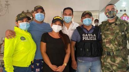 Liberan a empresario Luis Rafael Gómez en La Guajira