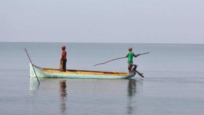 La 'tormenta' que padecen los pescadores en el puerto de Coveñas