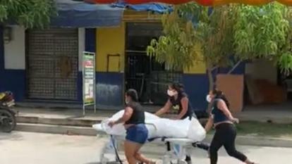 Familiares que sacaron cadáver de hospital en Fundación piden disculpas