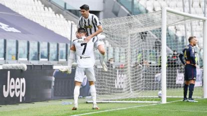 La Juventus venció al Génova