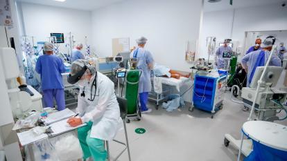 Personal médico, de cara a la covid-19