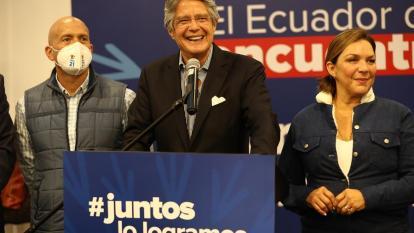 Lasso cuenta su plan para presidencia de Ecuador