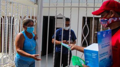 Perifoneo para concientizar sobre covid en Barranquilla