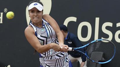 María Camila Osorio en el torneo WTA de Charleston-2