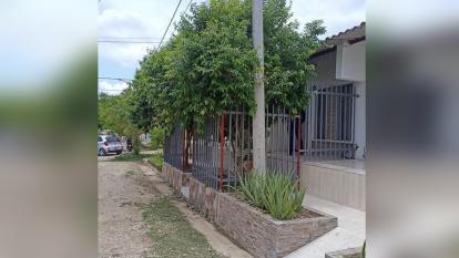 Dueño de una casa se 'robó' andén en Sincelejo