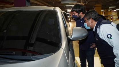 Habilitan nuevo punto de vacunación contra covid con acceso vehicular