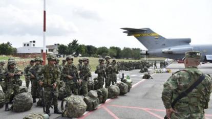 120 soldados que llegaron de Egipto dieron positivo por covid-19
