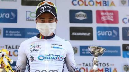 Aldemar Reyes gana la quinta etapa de la Vuelta a Colombia