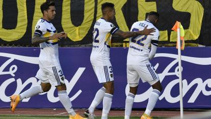 El gol de Sebastián Villa ante The Strongest