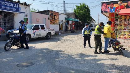 441 comparendos impuso la Policía del Atlántico por irrespetar medidas