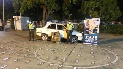 Dian y Policía Fiscal y Aduanera incautan droga en el Cesar