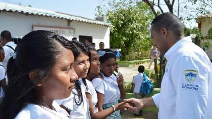 Distrito de Riohacha busca recuperar manejo de la educación
