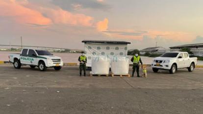Incautan cocaína en la zona portuaria de Barranquilla