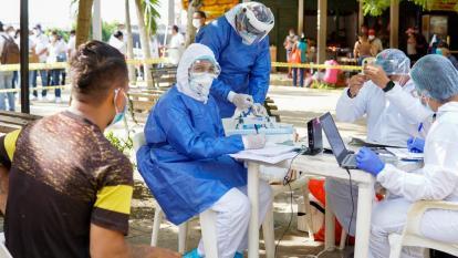 Sucre bate récord en contagio de coronavirus