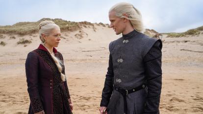 Así lucen los actores de la precuela de 'Game of Thrones' en el set