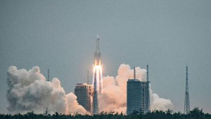 Restos de cohete chino habrían caído al oeste de las Maldivas