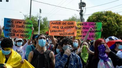 La juventud toma la palabra en la crisis colombiana