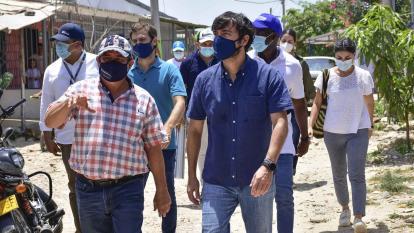 Nueve calles en Las Malvinas serán intervenidas con 'Barrios a la Obra'