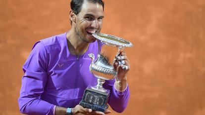 Nadal campeón en el Masters 1000 de Roma