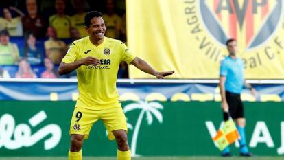 Carlos Bacca anota tres goles en victoria de Villarreal sobre Sevilla