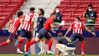Atlético de Madrid vs. Osasuna La Liga Luis Suárez