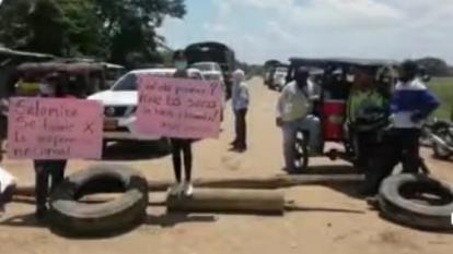 Salamineros le exigen al Gobierno que los atienda