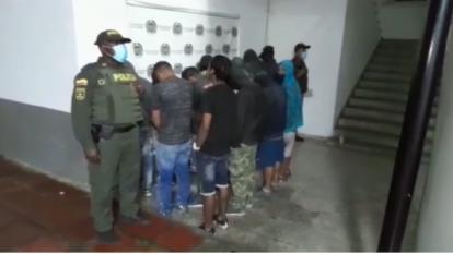 Capturados 17 presuntos responsables de vandalismo en Cali