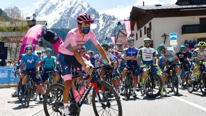 Etapa 17 del Giro de Italia con Egan Bernal líder