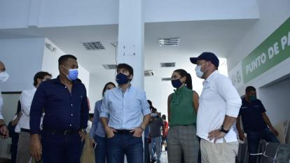 Pumarejo rechaza actos de vandalismo en Alcaldía Local de Suroriente