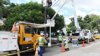 Mejora la calidad del servicio de energía en el Atlántico