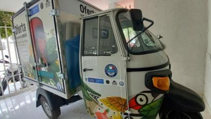 DPS entregó carro étnico al resguardo Nara Kajamanta, en Santa Marta