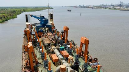 Cormagdalena anuncia inicio de dragado en canal de acceso a Zona Portuaria