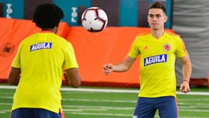 Rafael Santos Borré habla de la ausencia de James y Falcao en la Selección Colombia