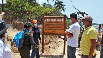 Privados cierran sendero en el Tayrona y PNN anuncia acciones legales