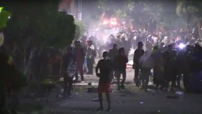 Enfrentamientos en Cali: dos personas muertas y cuatro policías heridos