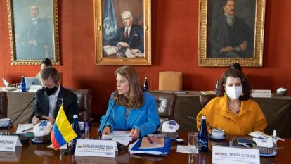 Reunión de la CIDH con el Gobierno de Colombia