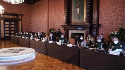 Ministerio de defensa presenta informe a la CIDH sobre protestas