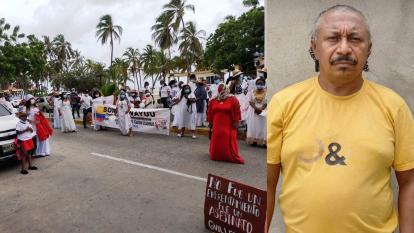 Familiares de wayuu asesinado en ranchería piden justicia