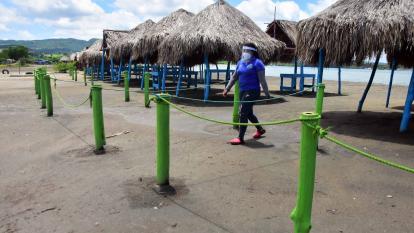 Nuevas medidas para playas del Atlántico los fines de semana