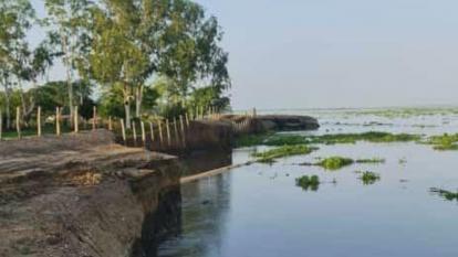 Habitantes de Guaimaro piden soluciones ante erosión del río