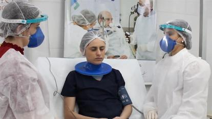 Un casco brasileño de respiración artificial reduce intubación en un 60 %