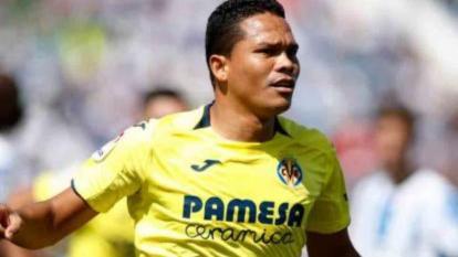 Carlos Bacca no continuará en la próxima temporada con el Villarreal
