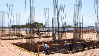 Avanza construcción de base para Policía Metropolitana en Valledupar