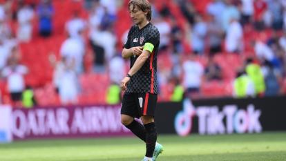 Luka Modric se une al resto de la selección de Croacia